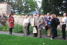 Tour of the town Saalfeld